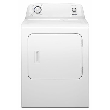 Amana 6.0-Cu.Ft. Top-Load Electric Dryer w/ Automatic Dryness Control, White (NED4655EW)