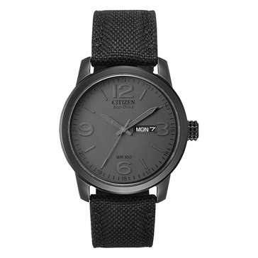 Citizen Men's Black Ion Plated Stainless Steel Case Watch, 42mm