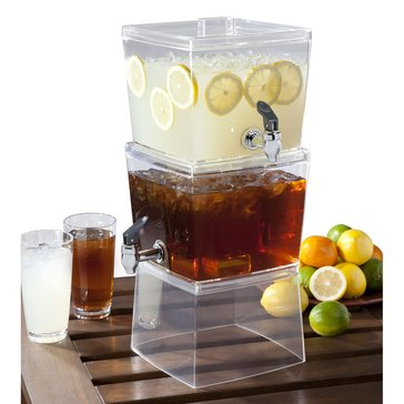 CreativeWare Stacked Beverage Dispenser, 1.5gal Each