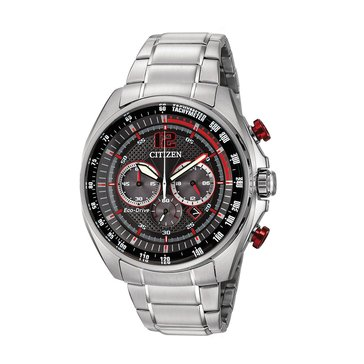Citizen Men's Eco-Drive Chronograph Stainless Steel Bracelet Watch