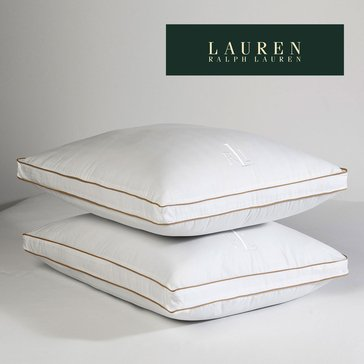 Ralph Lauren Lawton Firm Pillow - Standard