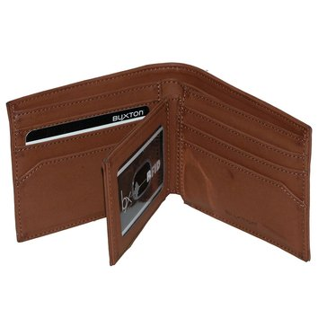 Buxton RFID Diablo Men's Convertible Thinfold Wallet