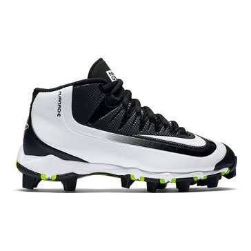Nike Huarache 2Kfilth Keystone Boys' Baseball Cleats Black /White Volt