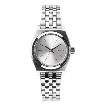 Nixon Women's Small Time Teller Watch A399-1920, Silver 26mm