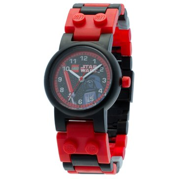 LEGO Kids' Star Wars Darth Vader Minifigure Watch
