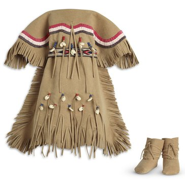 American Girl Kaya's Adorned Deerskin Dress
