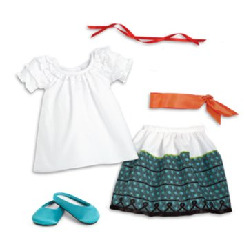 American Girl Josefina's Feast Outfit