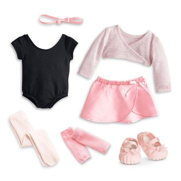 American Girl Pretty Plie Ballet Outfit