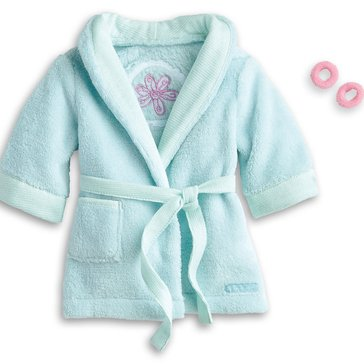 American Girl Sparkle Spa Robe