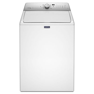 Maytag 4.8-Cu.Ft. Extra-Large Capacity w/ Steam Enhanced Cycles, White (MVWB755DW)