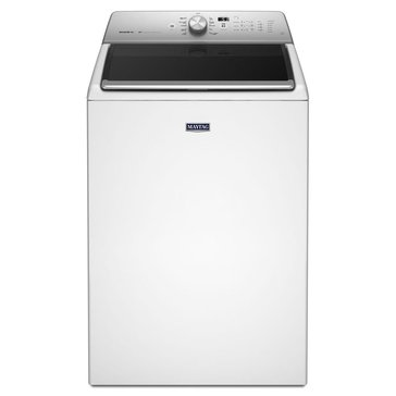 Maytag 5.3-Cu.Ft. XL Capacity Washer w/ PowerWash System & Deep Clean Option, White (MVWB835DW)