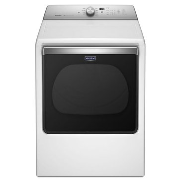 Maytag 8.8-Cu.Ft. Bravos Gas Dryer, White (MGDB835DW)