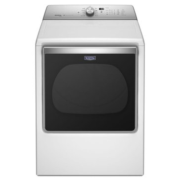 Maytag 8.8-Cu.Ft. Bravos Electric Dryer, White (MEDB855DW)
