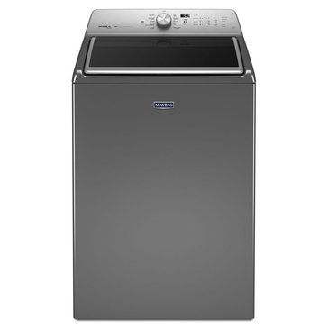 Maytag 5.3-Cu.Ft. Extra-Large Capacity Washer w/ PowerWash System, Metallic (MVWB855DC)