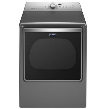 Maytag 8.8-Cu.Ft. Bravos Electric Dryer, Chrome (MEDB855DC)