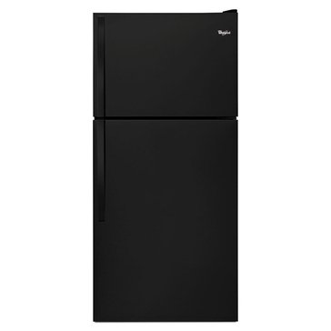 Whirlpool 18.2-Cu.Ft. Top-Freezer Refrigerator, Black (WRT318FZDB)