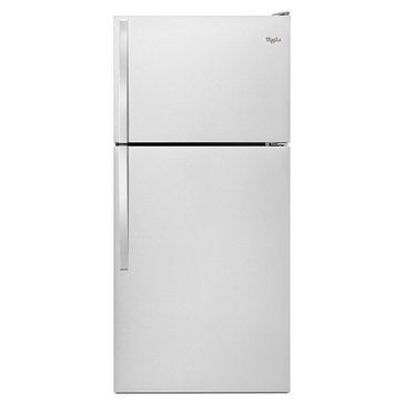 Whirlpool 18.2-Cu.Ft. Top-Freezer Refrigerator, Stainless Steel (WRT318FZDM)