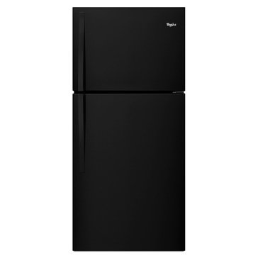 Whirlpool 19.2-Cu.Ft. Top-Freezer Refrigerator, Black (WRT549SZDB)