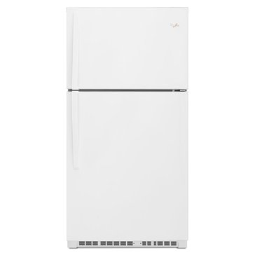 Whirlpool 21.3-Cu.Ft. Top-Freezer Refrigerator, White (WRT511SZDW)