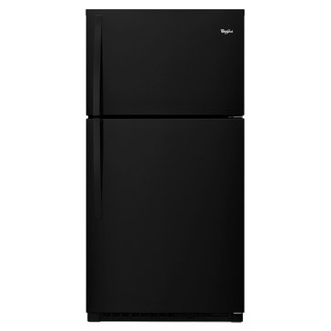 Whirlpool 21.3-Cu.Ft. Top-Freezer Refrigerator, Black (WRT511SZDB)