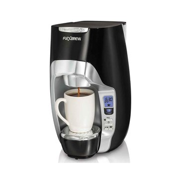 Hamilton Beach FlexBrew Programmable Single-Serve Coffee Maker (49996)
