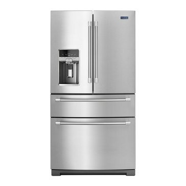 Maytag 26-Cu.Ft. French Door Refrigerator w/ Steel Shelves, Stainless Steel (MFX2876DRM)
