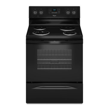 Whirlpool 4.8-Cu.Ft. Freestanding Electric Range w/ AccuBake System, Black (WFC310S0EB)