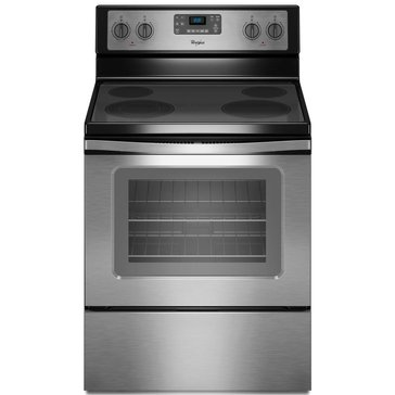Whirlpool 5.3-Cu.Ft. Freestanding Electric Range, Stainless Steel (WFE515S0ES)