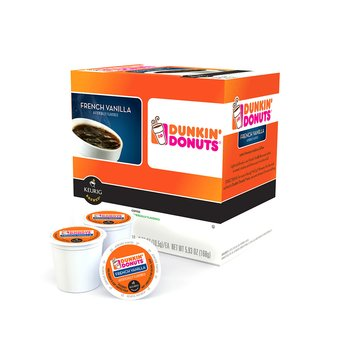 Dunkin' Donuts French Vanilla, 16-Count