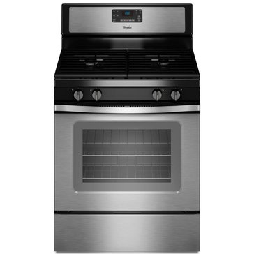 Whirlpool 5.0-Cu.Ft. Freestanding Gas Range w/ AccuBake, Stainless Steel (WFG515S0ES)