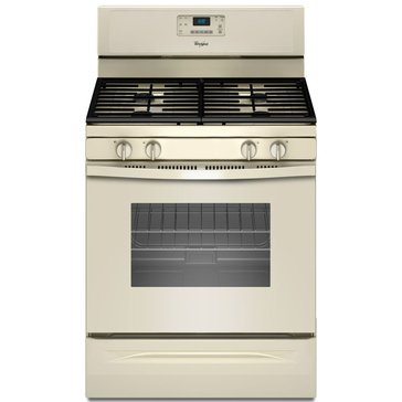 Whirlpool 5.0-Cu.Ft. Freestanding Gas Range w/ AccuBake, Biscuit (WFG515S0ET)
