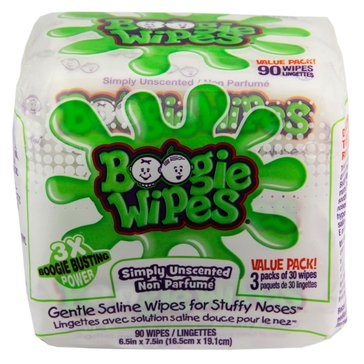 Boogie Wipes 90 Count Fresh 3X Pack
