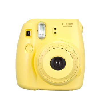 Fuji Instax Mini 8 Camera - Yellow