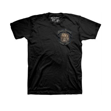 Black Ink Men's USN Don't Tread On Me Tee