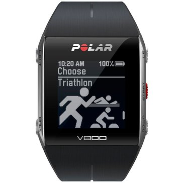 Polar V800 GPS Sports Watch & Activity Tracker with Heart Rate Monitor - Black