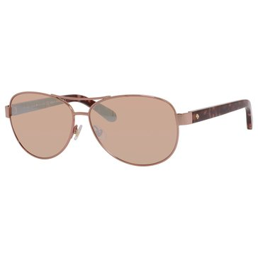 Kate Spade New York Women's Dalia 2 Aviator Sunglasses 58mm