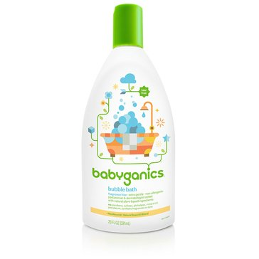 BabyGanics Fragrance-Free Bubble Bath, 20oz
