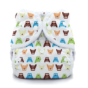 Thirsties Snap Duo Wrap, Hoot - Size 2