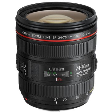 Canon EF 24-70mm F/4 IS ISM Lens