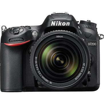Nikon D7200 DX Format 24.2MP DSLR Camera with 18-140MM VR Lens