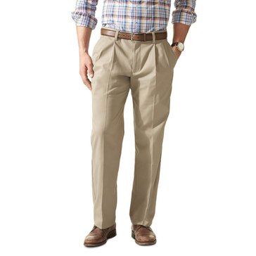 Dockers Men's Big & Tall Easy Khaki Pleated Pant
