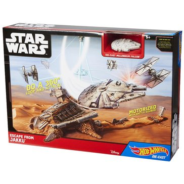 Hot Wheels Star Wars Escape from Jakku Play Set