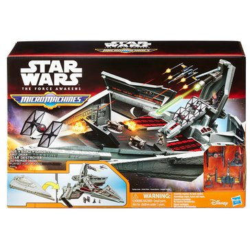 Star Wars Episode 7 First Order Star Destroyer Playset
