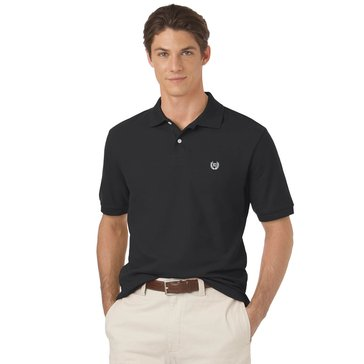 Chaps Men's Big & Tall Solid Pique Basic Polo