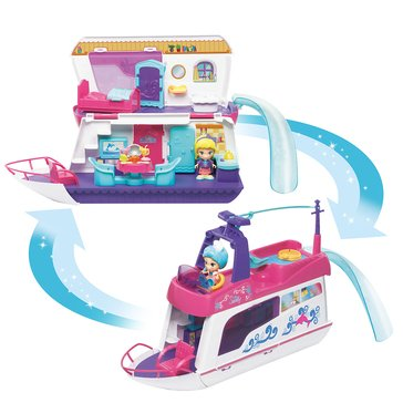 Flipsies Sandy's House and Ocean Cruiser Playset