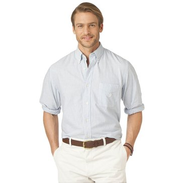 Chaps Men's Big & Tall Stripe Oxford Shirt