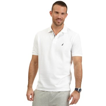 Nautica Men's Big & Tall Solid Deck Polo