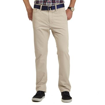 Nautica Men's Big & Tall Twill Flat Front Pant