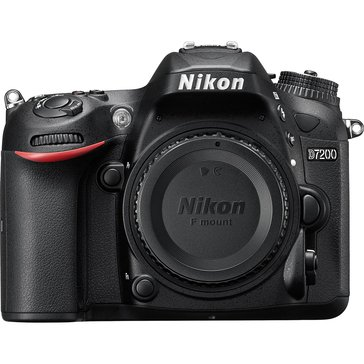 Nikon D7200 DX Format 24.2MP DSLR Camera (Body Only)