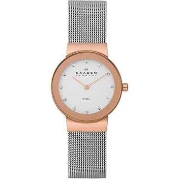 Skagen Women's Freja Steel Mesh Bracelet Watch 26mm